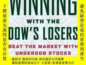 二手書博民逛書店Winning罕見with the Dow s Losers:B