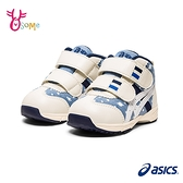 ASICS童鞋 寶寶鞋 男學步鞋 SUKU童運動鞋機能鞋 GD.RUNNER BABY CT MID 4 嬰兒鞋 高筒護踝 C9115#藍色
