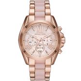 Michael Kors MK BRADSHAW 羅馬假期計時腕錶(MK6830)43mm