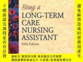 二手書博民逛書店Being罕見A Long Term Care Nursing AssistantY255562 Burton