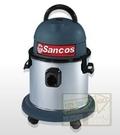 [ 家事達 ] 台灣SANCOS 乾.濕.吹三用白鐵桶吸塵器 1100W 特價