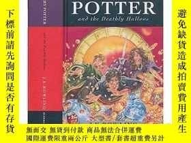 全新書博民逛書店英文原版哈利波特與死亡聖器第 第七部大結局 精裝Harry Potter and the Deathly Hall