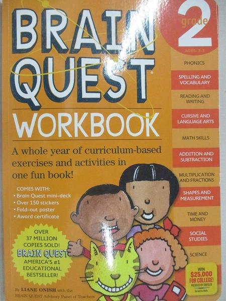【書寶二手書T1/動植物_J37】Brain Quest Workbook Grade 2_Onish, Liane/ Swann, Jill (EDT)