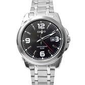 CASIO手錶大數字黑色鋼錶NEC151