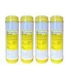(4支入)CLEAN PURE 10英吋標準型離子交換樹脂濾心 台灣製造 SGS認證 抑制水垢 軟化水質