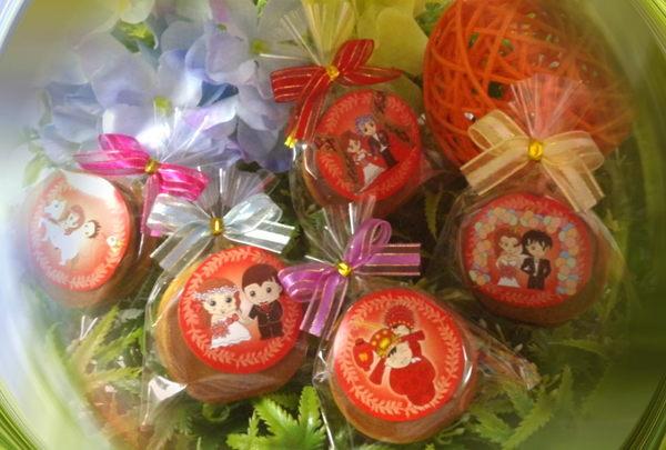 特價新品~甜蜜幸福銅鑼燒-小包裝/包~~贈Q版貼紙,非麥芽餅.棉花糖~~~