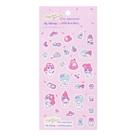 Sanrio 美樂蒂&KIKI LALA 45週年系列 造型貼紙 粉
