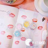 手錶-韓國創意可愛卡通粉嫩少女心電池表原宿軟妹透明日系學生橡膠手表-奇幻樂園