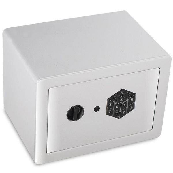 全能保險櫃家用小型迷你密碼保險箱衣櫃入牆床頭防盜25高保管箱YYP 可可鞋櫃