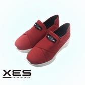 XES 輕量針織鞋 紅色