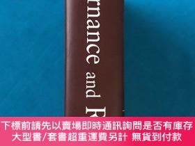 二手書博民逛書店Governance罕見and Risk (16開 精裝 有護封)Y261601 George S. Dall
