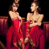 情趣內衣  性感透明女式血滴子套裝極度sm騷睡衣制服透視和服新娘裝