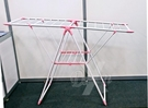 輕巧可調整架手位置★ 粉紅  X型折疊曬衣架(SP-1707)