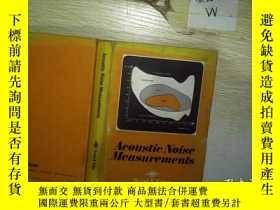 二手書博民逛書店Acoustic罕見Noise Measurements 。,Y