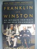 【書寶二手書T1/傳記_ISY】Franklin And Winston: An Intimate Portrait Of An..._Meacham