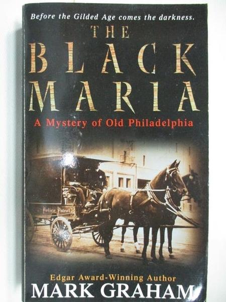 【書寶二手書T6/原文小說_AHP】The Black Maria_Mark Graham