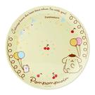 【震撼精品百貨】布丁狗_Pom Pom Purin~日本SANRIO三麗鷗 布丁狗美耐皿盤子/塑膠盤#58556