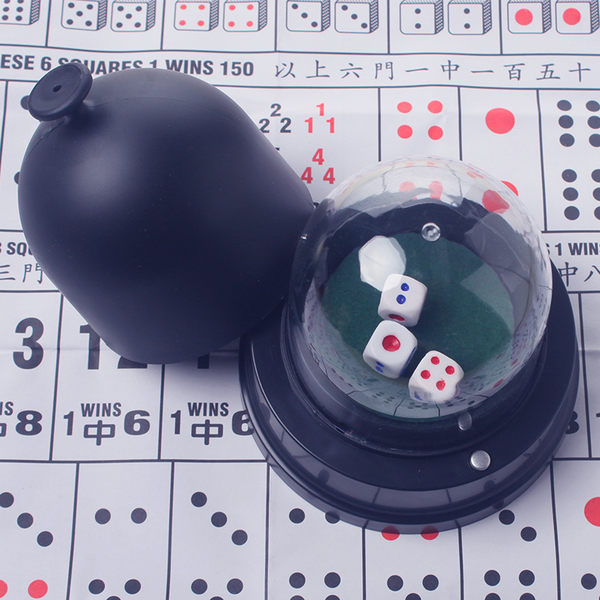 酒吧KTV電動骰盅骰子套裝