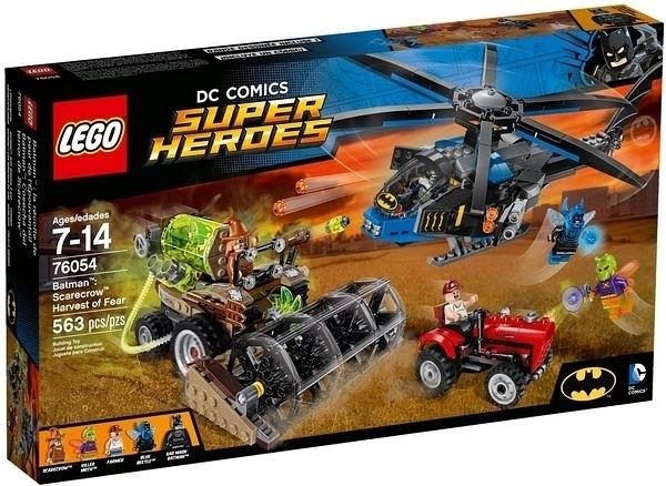 76054【LEGO 樂高積木】超級英雄 Super Heroes-蝙蝠俠 稻草人恐懼氣體