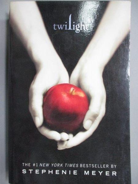 【書寶二手書T1/原文小說_MDV】Twilight_STEPHENIE MEYER