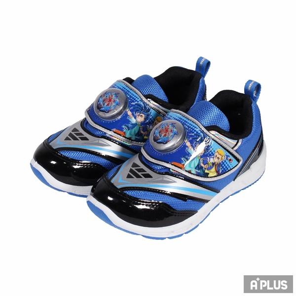 K-SHOES 童鞋 戰鬥陀螺電燈鞋藍-X16706