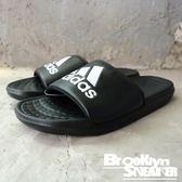 Adidas Voloomix 男女 黑白 拖鞋 (布魯克林) 2018/7月 CP9446