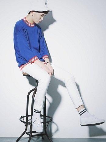【找到自己】韓國 圓領 套頭 針織 條紋 毛衣 大學T  JP   REP 亞森