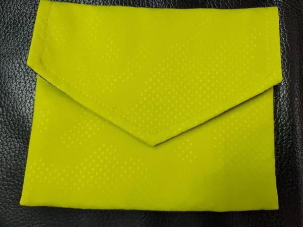 品業興 PYX 口罩收納袋 -芥末黃
