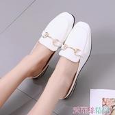 穆勒鞋半包頭拖鞋女冬外穿夏季韓版時尚可愛室內平底穆勒鞋涼拖交換禮物