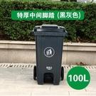 240L升戶外垃圾桶帶蓋環衛大號垃圾箱移動大型分類公共場合商用NMS【蘿莉新品】