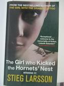 【書寶二手書T7/原文小說_HGD】The Girl Who Kicked the Hornet's Nest_Stieg Larsson
