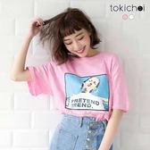 東京著衣-個性風潮印花短T(180881)