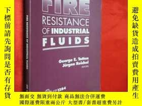 二手書博民逛書店fire罕見resistance of industrial f