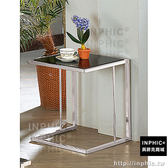 INPHIC-亞力士不鏽鋼黑色玻璃小茶几/小茶几/咖啡桌/書桌/邊桌_wKxF