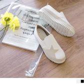 《SD0180》台灣製造~星星拼接仿皮革減壓休閒鞋 OrangeBear