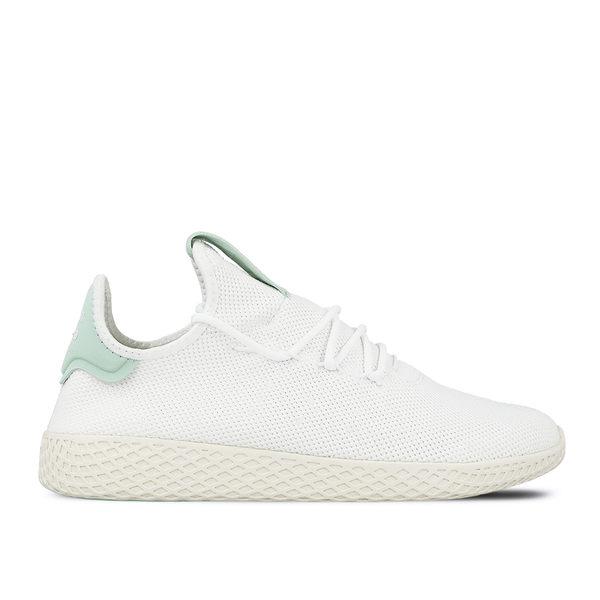 6f2e32f2f GT Adidas Originals Tennis HU 白綠男鞋菲董聯名款愛迪達三葉草運動鞋 ...