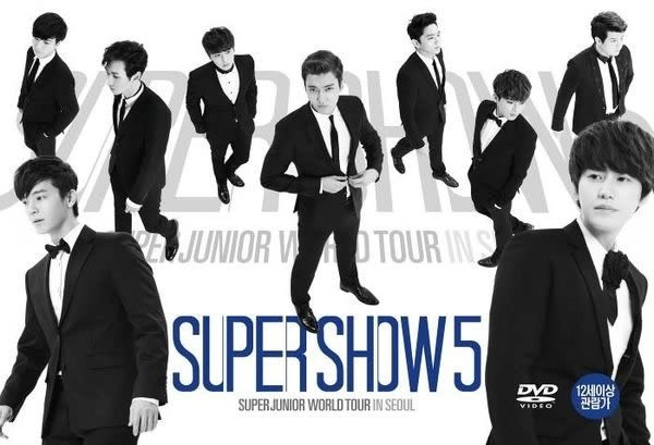 SUPER JUNIOR WORLD TOUR in SEOUL SUPER SHOW 5  台壓繁體中文字幕版 DVD