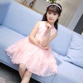 童裝公主裙女童蓬蓬連身裙女孩洋氣裙子禮服