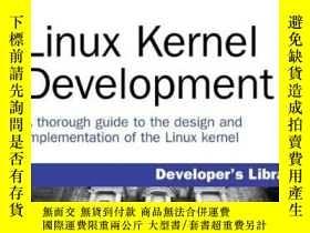 二手書博民逛書店Linux罕見Kernel DevelopmentY195674 RL ADD