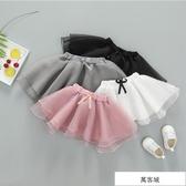 女童半身裙夏1一3-5歲2019新款兒童網紗裙子春秋寶寶蓬蓬舞蹈短裙 萬客城