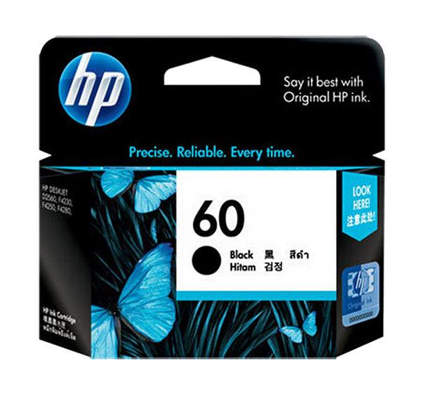 CC640WA HP 60 黑色墨水匣 適用 HP F2410,F4200,F4240,F4280,F4480,D1660/D2500/D2530  /D2545/D2560/D2660/D5560