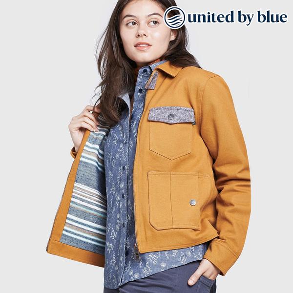 United by Blue 女野牛毛立領保暖外套 204-002 Bison Utility Jacket / 城市綠洲 (有機棉、環保、無化學物)