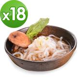 樂活e棧 低卡蒟蒻麵 原味烏龍+濃湯(共18份)