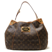 LOUIS VUITTON LV 路易威登 原花肩背包 南瓜包 Galliera PM M56382【BRAND OFF】