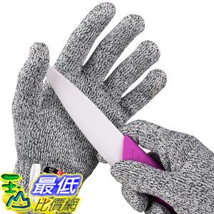 [107美國直購] 切割手套 NoCry Cut Resistant Gloves with Grip Dots for Kids High Performance Level 5