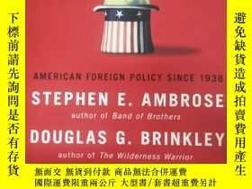 二手書博民逛書店Rise罕見to Globalism : American Foreign Policy Since 1938 【