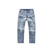 CACO-破壞洗舊牛仔褲-男【WNA046】