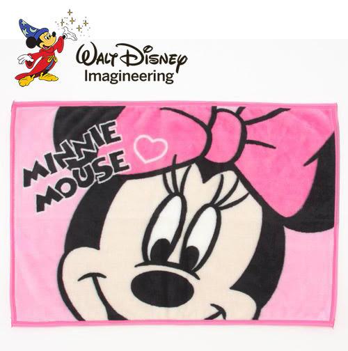 迪士尼 米妮造型 膝上毯/毛毯/毯子 舒服柔軟 Disney 日本正版 該該貝比日本精品 ☆