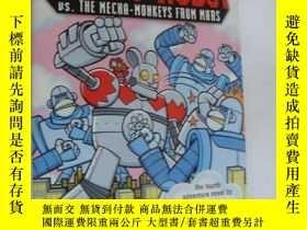 二手書博民逛書店NIGHTY罕見ROBOT vs The Micha-Monke