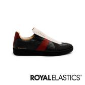 Smooth 黑紅真皮時尚休閒鞋 (男) 01584-819